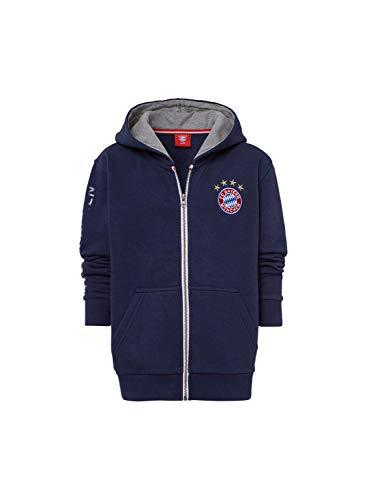 FC Bayern München Kapuzenjacke Classic Kids Navy, 128