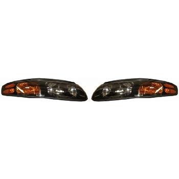 amazon com pontiac bonneville replacement headlight assembly 1 pair automotive pontiac bonneville replacement headlight assembly 1 pair