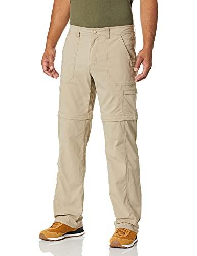 Royal Robbins Traveler Zip N' Go Pantalon pour Homme, Homme, 44166, Kaki, Size 34 x 34