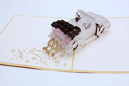Holzgrußkarten.at 3D PopUp Glückwunschkarte