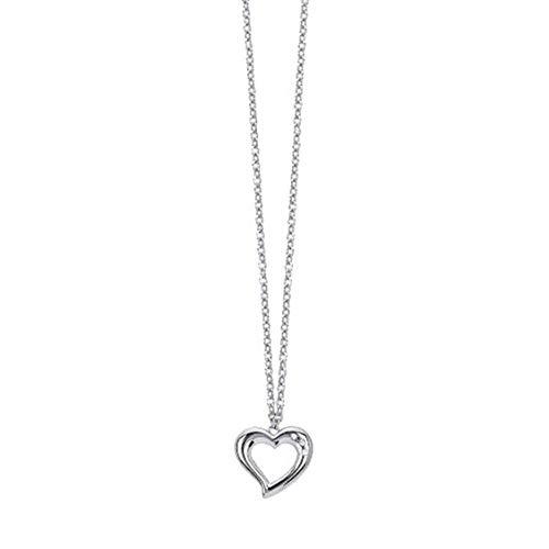 Collana 2Jewels in Acciaio con Pendente Cuore e Cristalli – Mon Amour – 251652