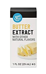 Amazon Brand - Happy Belly Butter Extract with other natural flavors, 1 fl oz