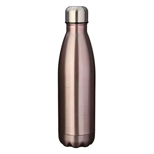 E-db Doppia Parete 500ml Doppia Parete Acciaio Inox Sottovuoto Coibentato Bottiglia Termica Frantumare 24 Ore Freddo & 12 Caldo Perfetta Borraccia Sportiva (B)