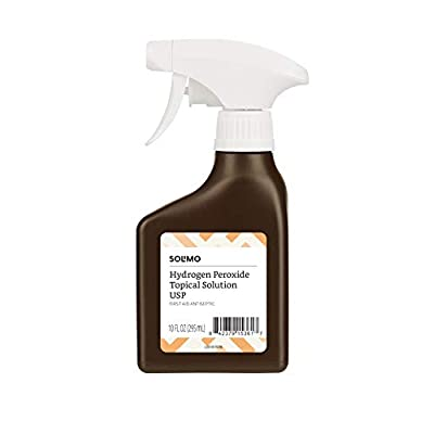 hydrogen peroxide spray