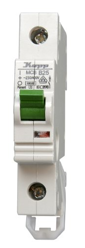 Kopp 722500002 Green Electric Leitungsschutzschalter (MCB) 1-polig, 25 A