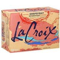 La Croix Sparkling Water Grapefruit, 12/12 FZ (Pack of 2) by LaCroix