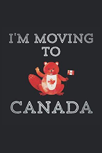 Kanada Notizbuch: Kanada Geschenk Notizbuch Tagebuch Planer Notizblock 120 karierte Seiten 6x9 Zoll (ca. DIN A5) Geschenkidee