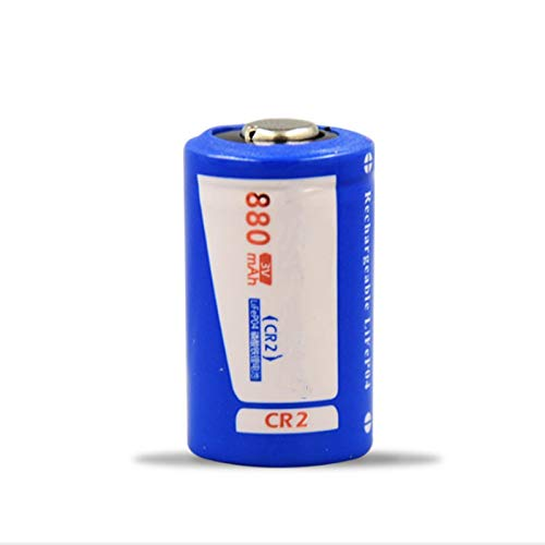 RECORDARME 1 Piezas De Alta Potencia 880mah Cr2 3v Lifepo4 Batería De Litio Recargable, para Flash De CáMara Linterna Led Faros Juguete Control Remoto