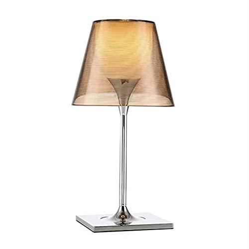 Lámpara de mesa de servicio Lámparas de mesa decorativas modernas de mesita de noche Lámpara de mesa decorativa tridimensional, utilizada para estudiar y decoración de oficina Lámpara de escritorio de