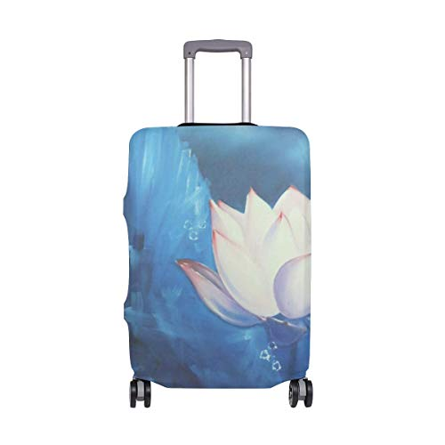 Night Lotus Travelers Choice Travel Equipaje con Ruedas giratorias Maleta de Equipaje de 20 Pulgadas