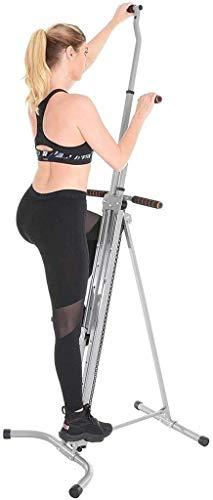 Nueva máquina de cardio de escalada de fitness vertical plegable, máquina de ejercicio de gimnasio en casa, bicicleta estática, entrenador corporal en casa, entrenamiento de entrenamiento cardiovascu