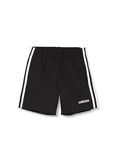adidas Jungen Shorts Essentials 3-Streifen Woven, Black/White, 176, DV1790