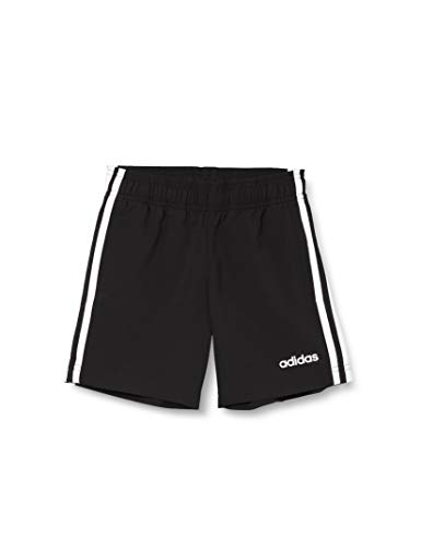 adidas Youth Boys E 3 Stripes Woven Shorts, Bambino, Black/White, 15-16A