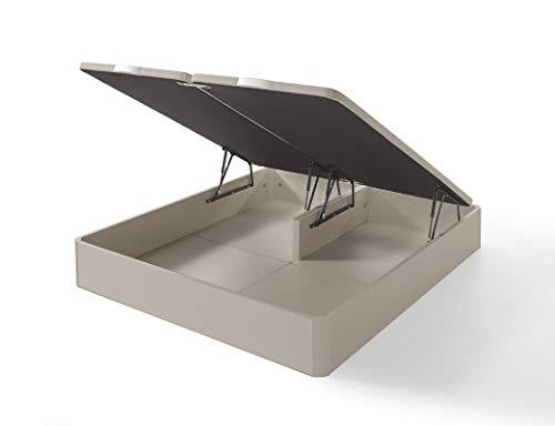 IKON SLEEP Canapé Abatible Fénix de Madera Cambrian 180x190 cm - Montaje a Domicilio | Gran Capacidad | Esquinas de Madera