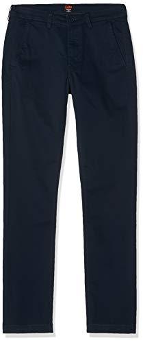 Lee Chino Pantalones, Azul (Dark Navy 21), W36/L34 (Talla del Fabricante: 36/34) para Hombre