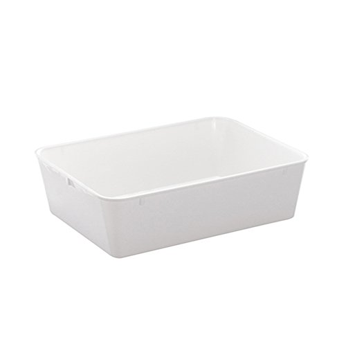 WACA® 1454-710 Auslageschale Präsentationsschale 340x250x100mm weiß