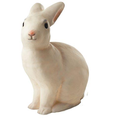 Egmont Toys Lampe, Hase, Weiß