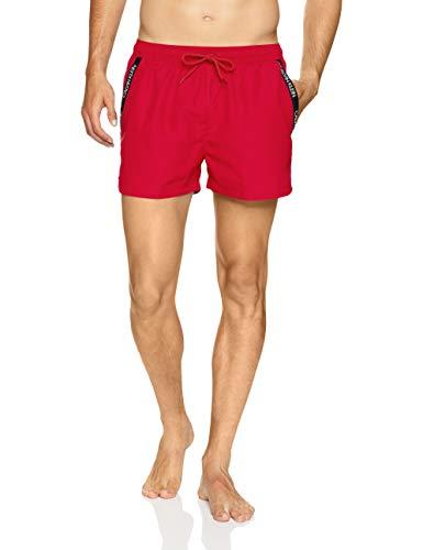 Calvin Klein korte zwembroek voor heren, rood