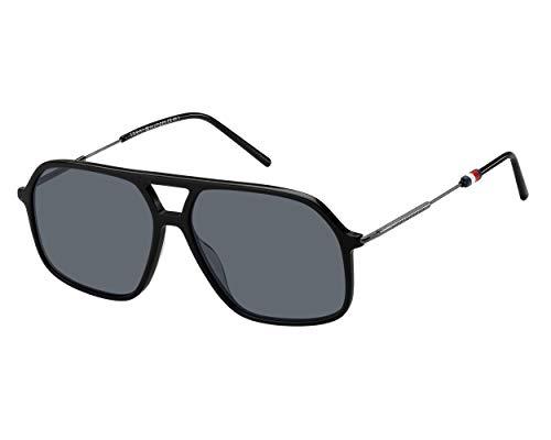 occhiali da sole uomo hilfiger Occhiali da sole Tommy Hilfiger TH 1645/S BLACK/GREY uomo