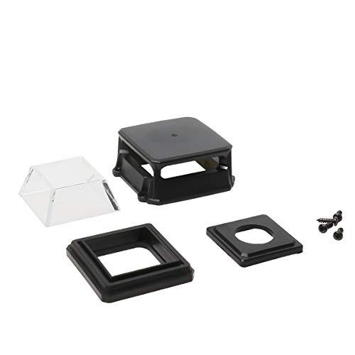 1 pak Huepar GW01H glazen ramen en beschermende afdekking vervangen, geschikt voor horizontale ramen van Huepar GF360G / GF360R / 903CG / 903CR kruislijnlaser
