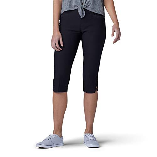 LEE Women's Sculpting Slim Fit Pull-On Vent Hem Skimmer Pant, Black, 2 (Keela Scuffer Trousers Best Price)