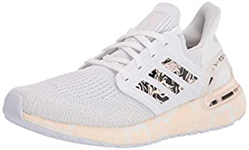 adidas Women s Ultraboost 20 Glam Pack Running Shoe White/Pink Tint/Black 9