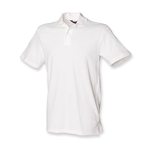 Henbury - Polo - - Polo - Col polo - Manches courtes Homme - Blanc - Blanc - Medium