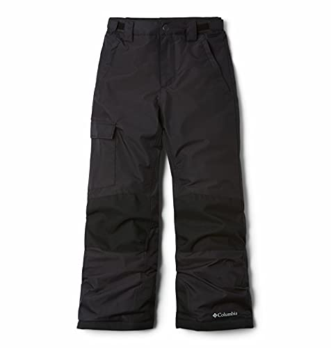 Columbia Kids' Bugaboo II Pant, Waterproof and Breathable Black, Large