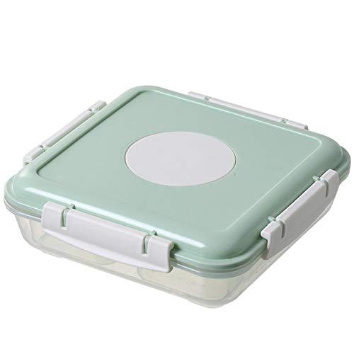 WUQIANG Vaisselle Pour Enfants For enfants et adultes Bento Box Set, four micro-ondes OvenFresh de maintien de Bento Box avec couvercle, boîte restauration rapide, antifuite Bento Box et Snack bBox Se