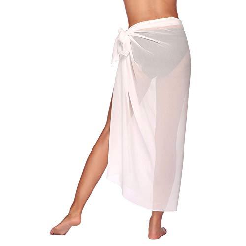 Vestido Envolvente Largo Manga Larga Multifuncional Vestido De Playa para Mujer Sexy Bikini Elgant Cubrir Vestidos Largos De Playa Verano para Mujer para Toalla De Playa, Mono De Bikini De Playa