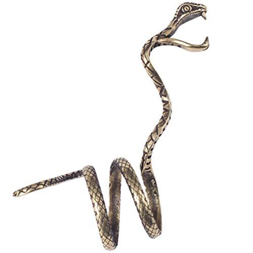Anel porta-cigarro BESPORTBLE, anel de cobra, suporte de dedo, anel de fumante protege os dedos de queimaduras e manchas, presente para homens e mulheres (cor aleatória)