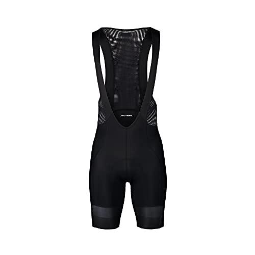 POC, Essential Road VPDs Bib Shorts, Uranium Black/Uranium Black, Medium