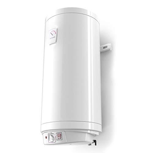 120 Liter Warmwasserspeicher Boiler Elektro Speicher Heizung emaillierter Stahlbehälter, 120 Liter