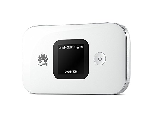 Huawei E5577s-321 Unlocked 150 Mbps 4G LTE Mobile WiFi Hotspot (4G LTE in Europe, Asia, Middle East, Africa & 3G globally) Unlocked/OEM/ORIGINAL from Huawei WITHOUT CARRIER LOGO (White)