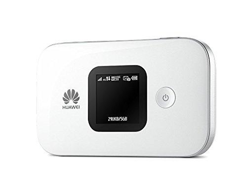 HUAWEI SIMフリーモバイルwi-fiルーター E5577S ホワイト E5577S-324