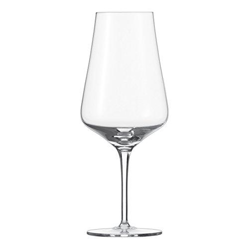Schott Zwiesel FINE Rotwein-Glas, Kristallglas, transparent, 97 mm, 6