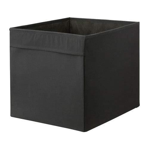 x3 IKEA DRONA - negro caja de almacenaje - 33 x 38...