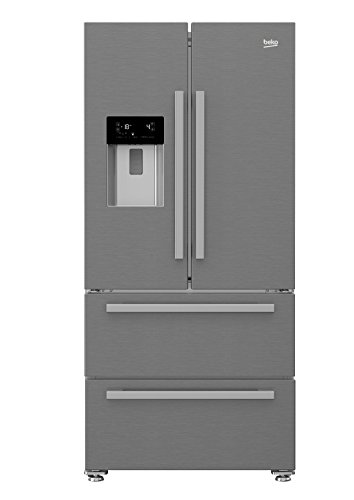 Beko GNE60530DX nevera puerta lado a lado Independiente Plata, Acero inoxidable 530 L A++ - Frigorífico side-by-side...