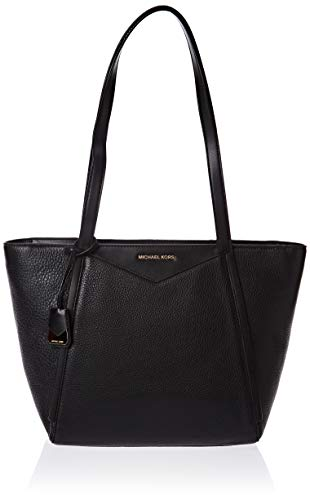 Model: 30S8GN1T1L001 Color: Black Series: Whitney Top Zip Closure Interior Zip Pocket