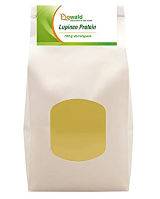 Piowald Lupinenprotein - Vorratspack, 1er Pack (1 x 700 g)