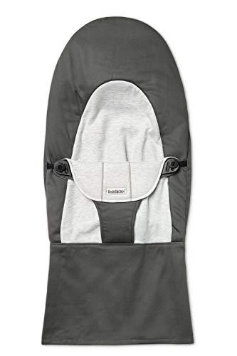 Fabric Seat Bouncer Balance Soft, Cotton/Jersey, Dark Grey/G