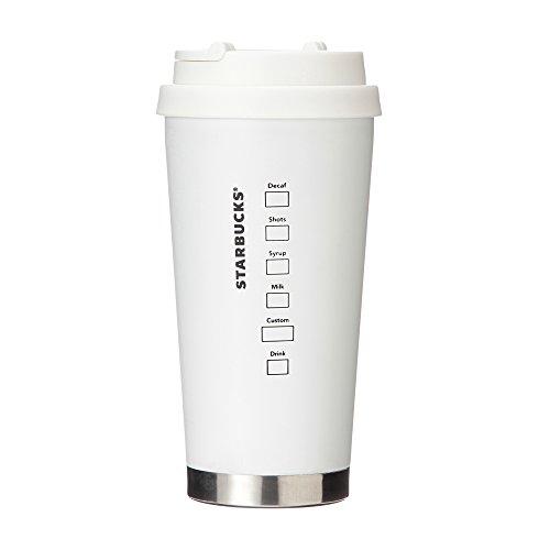 StarbuckscoffeeスターバックスステンレスToGoロゴタンブラーマットホワイトグランデ470ml
