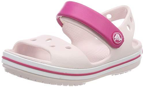 Crocs Unisex-Kinder Crocband Sandalen, Pink (Barely Pink/Candy Pink 6pv), 27/28 EU