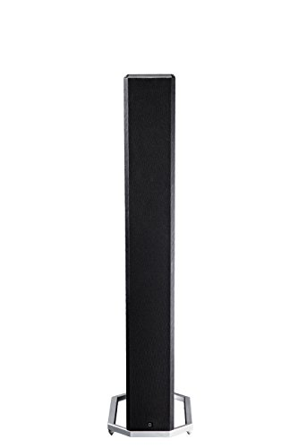 """Definitive Technology BP-9020 Tower Speaker   Built-in Powered 8"""" Subwoofer for Home Theater Systems   High-Performance   Front and Rear Arrays   Optional Dolby Surround Sound Height Elevation"""