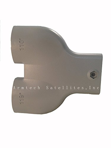 DUAL TWIN Y Yoke Bracket for Dish 500 perfect for: 110/119 or 91/82 FTA, dish network or bell express VU