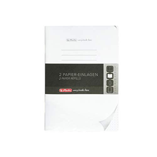 Herlitz 50017430 Refill flex, A5, 2 x 40 Blatt punktiert