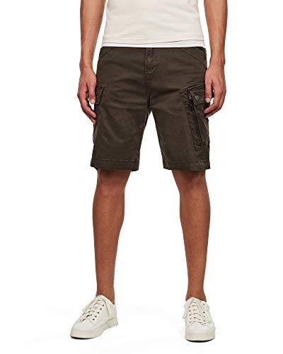 G-STAR RAW Roxic Pantalones Cortos, Gris (Asfalt...