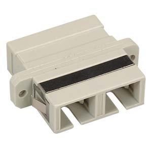InstallerParts Fiber Optic SC-SC Multimode Duplex Adapter