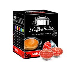 80 Capsule I Caffè D\'Italia Bialetti ROMA