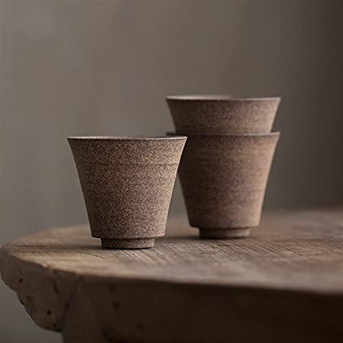 Theekopjes Set van 3 keramische theekop Chinese Kung Fu Tea Cup Drinkware 50ml FQYXLX (Color : Set of 3 cups)
